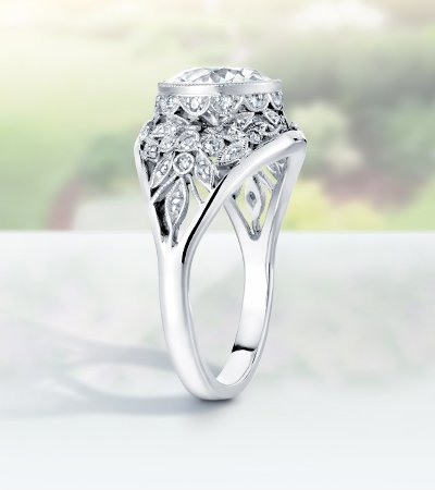 pick with wedding your engagement a works fit that bands around ring how to band jewellery