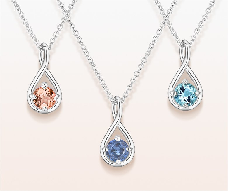 Pendants and necklaces brilliant earth fine jewelry aquamarine and morganite necklaces aloadofball Image collections