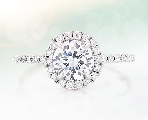 shop diamond engagement rings - Wedding Ring Shop