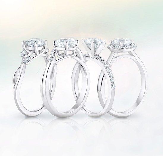 Four Signature Brilliant Earth Engagement Rings