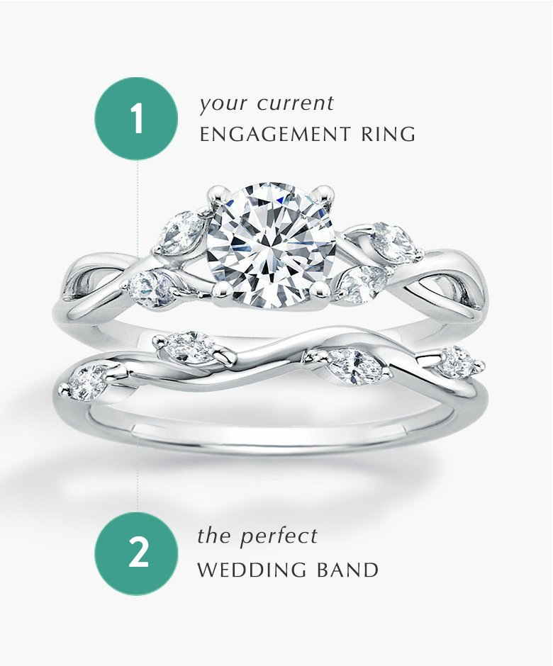 Find the perfect wedding band to match your engagement ring