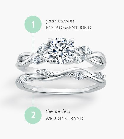 Difference Between Engagement And Wedding Ring.Wedding And Anniversary Rings Brilliant Earth