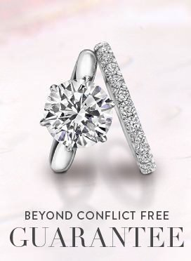 Conflict Free Non Diamond Engagement Rings