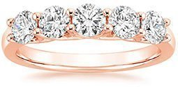Signature Five Stone Trellis Diamond Ring