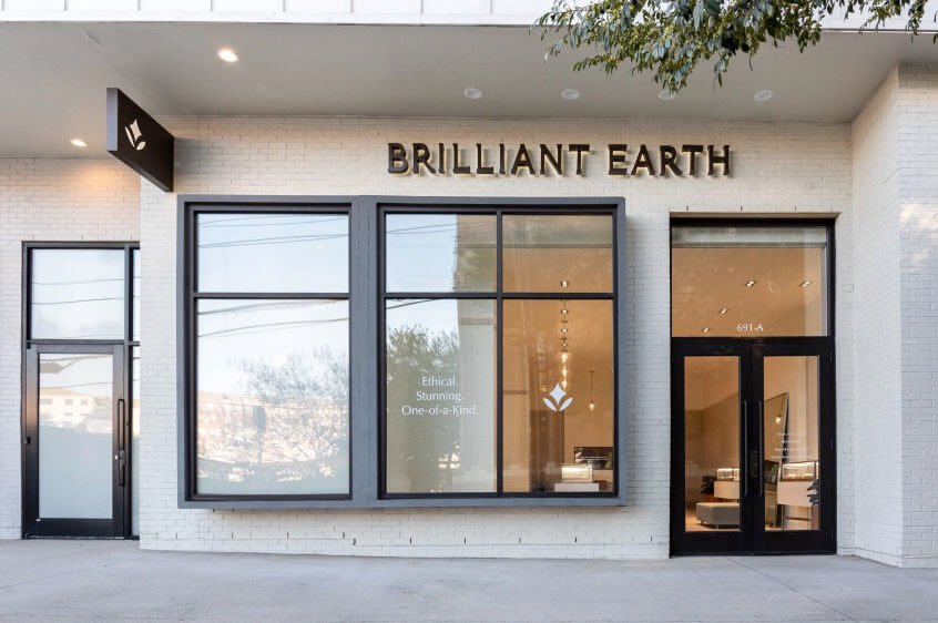 Brilliant Earth Atlanta showroom exterior