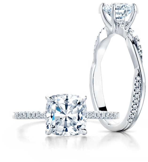 Spring Diamond Engagement Rings