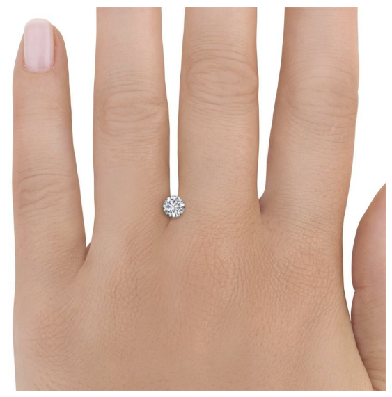 engagement white diamond half solitaire carat gold p ring